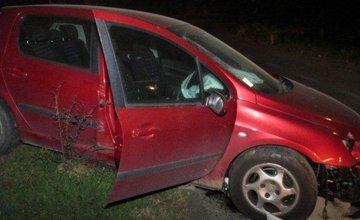 Fotografie z miesta nehody na Štefánikovej ulici v Žiline