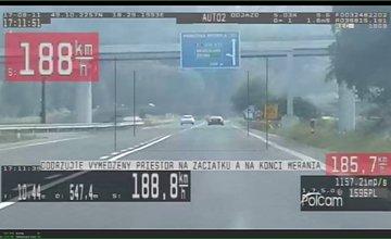 Policajti namerali 46-ročného Žilinčana v rýchlosti 188 km/h