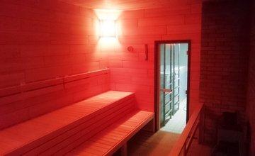 Zrekonštruovaná sauna na Mestskej krytej plavárni