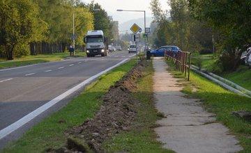 Budovanie verejného osvetlenia na uliciach Rosinská cesta a Vysokoškolákov
