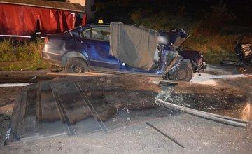 Tragická dopravná nehoda na ceste I/18 pri Ružomberku