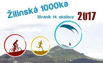 Pozvánka na podujatie Žilinská 1000ka 2017