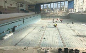 Rekonštrukcia bazéna na plavárni v Žiline - 2017
