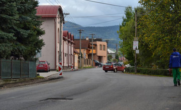 Rekonštrukcia cesty v obci Rosina