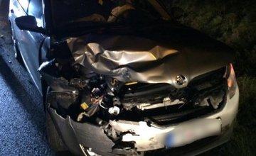 Dopravná nehoda Krasňany - Stráža 19.11.2017