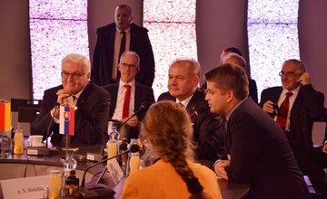 Žilina v piatok 17. novembra hostila dvoch prezidentov