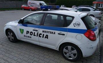 Automobil mestskej polície v Žiline na predaj