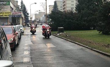 Mikuláš na motorke v Žiline - 6.12.2017