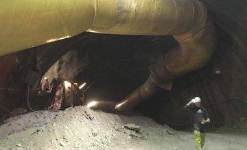 Zverejnili ďalšie aktuálne fotografie zo stavby tunela Višňové