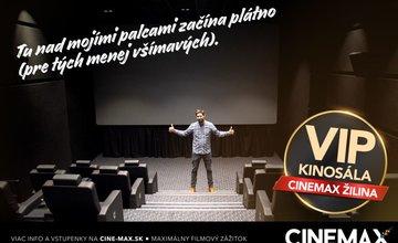 Nová VIP kinosála CINEMAX ŽILINA