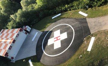 Výstavba stanice Vrtuľníkovej záchrannej zdravotnej služby - Krištof 06