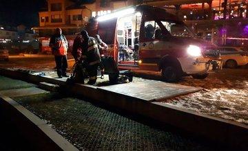 Žilinskí hasiči hľadali nezvestného muža na Orave