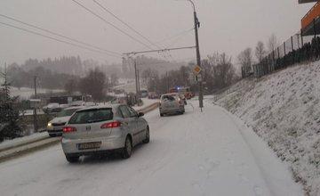 Dopravné nehody v Žiline - 16.1.2018
