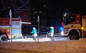 AKTUÁLNE: Pri Vodnom diele Žilina došlo k požiaru reštaurácie