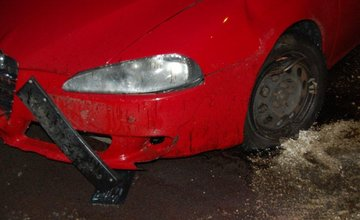 Dopravná nehoda 33-ročného muža z Banskej Bystrice, ktorý nabúral v Martine