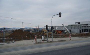 Výstavba predajne SCONTO nábytok na Šibeniciach