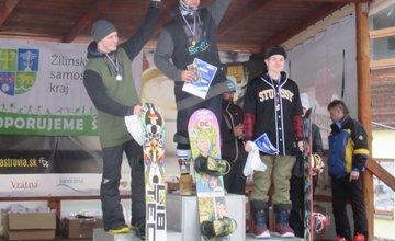 Siedmy ročník súťaže žiakov Stredných škôl ŽSK na lyžiarskom svahu