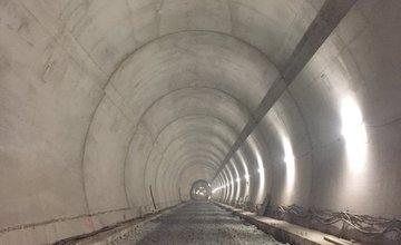 NDS zverejnila 9. februára aktuálne fotografie z tunela Višňové