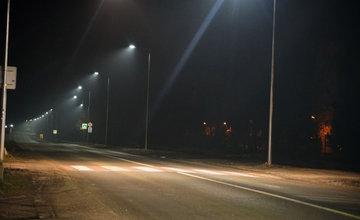 FOTO: Rosinská cesta je osvetlená