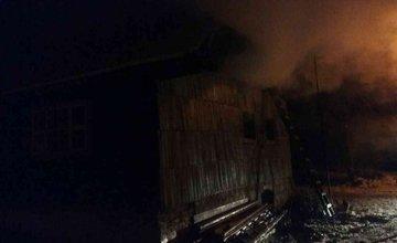 Požiar chaty Terchová 14.2.2018