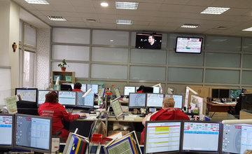 Koordinačné stredisko liniek IZS v Žiline prešlo zmenami
