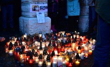 Tichá spomienka na Jána Kuciaka v Žiline