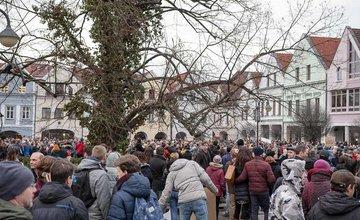FOTO: Pochod Postavme sa za slušné Slovensko v Žiline 9. marec 2018