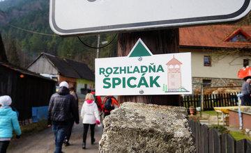 Slávnostné otvorenie rozhľadne Špicák v Strečne