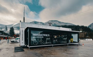 BMW GENERATION X TOUR v Terchovej s MD-Bavaria Žilina