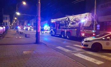Požiar Okresnej kancelárie SMER-SD Žilina