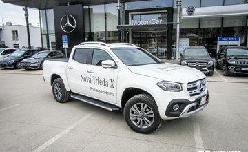 Redakčný test Mercedes-Benz X