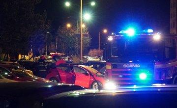 Požiar osobného auta na sídlisku Solinky 9.4.2018