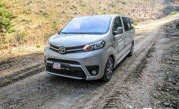 Redakčný test Toyota Proace Verso