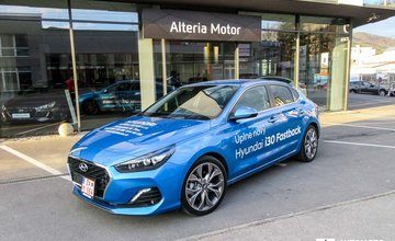 Redakčný test Hyundai i30 Fastback