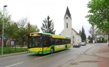 Prvý zo série nových autobusov Solaris Urbino IV 12 v Žiline