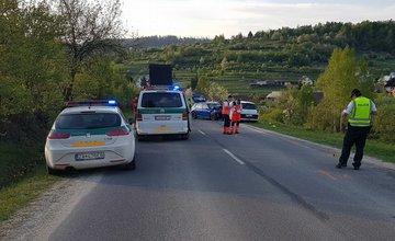 Dopravná nehoda v obci Lutiše 28.4.2018