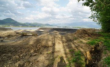 Bike Park so špeciálnou pumptrackovou dráhou na Vodnom diele Žilina