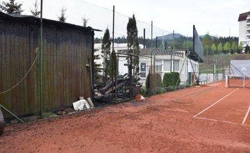 Požiar skladu športových potrieb Ružomberok