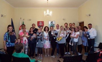Obec Hôrky uvítala do života novonarodené ratolesti počas slávnostného programu