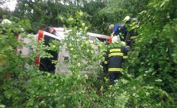 Dopravná nehoda na ceste I/61 pri obci Horný Hričov