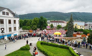 Štvorylka 2018 na námestí Andreja Hlinku v Žiline
