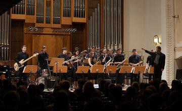 FOTO: Big Band žilinského konzervatória jubiluje, oslávil 25 rokov