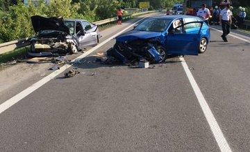 Vážna dopravná nehoda pri mestskej časti Žilina - Brodno 19.5.2018