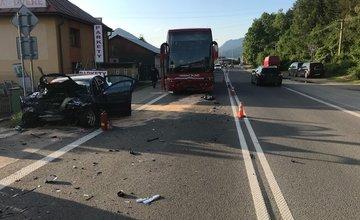 Dopravná nehoda Ružomberok