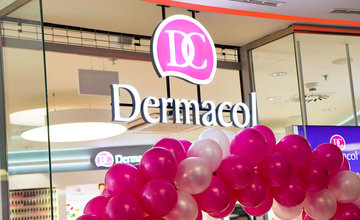 Otvorenie predajne Dermacol v Žiline OC Mirage
