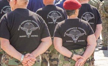 5. pluk špeciálneho určenia v Žiline - slávnostný ceremoniál 25. výročie