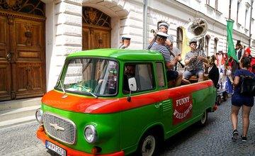 FOTO: 24. ročník Staromestských slávností v Žiline odštartoval