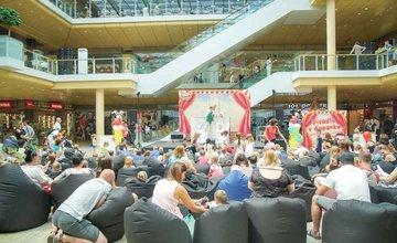 FOTO: V Auparku v Žiline prebiehajú na Deň detí divadelné predstavenia