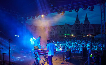 FOTO: Koncert Billyho Barmana ukončil 24. ročník Staromestských slávností 2018 v Žiline