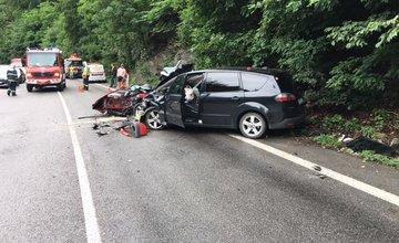 Dopravná nehoda pod Strečnom 3.6.2018